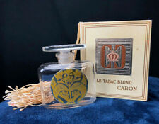 LE TABAC BLOND CARON Vintage Perfume Bottle with box 2 1/2`` X 2 1/8``