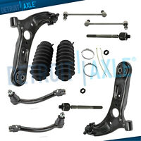 For 2012-2017 Hyundai Veloster Front Lower Control Arms + Tierods Sway Bars Kit