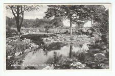 Burn Valley Gardens Hartlepool 1936 Valentines G5467 Card Published 1947 Old PC