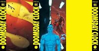 Doomsday Clock #12 (of 12) A&B&C variant Set Ships FREE Ship 12-18 WATCHMEN 3Pak