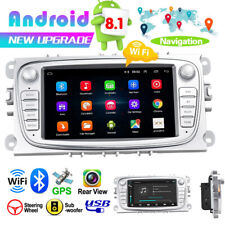7'' Car Radio Android 8.1 GPS Navi USB WIFI BT MP5 For Ford Focus Mondeo Galaxy