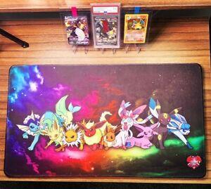 Pokemon Eeveelutions Custom Play mat Anime Mousepad FREE SHIPPING