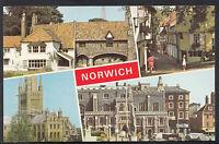 Norfolk Postcard - Views of Norwich    A2770