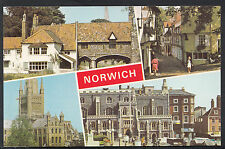 Norfolk Postcard - Views of Norwich    A2770