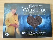 GHOST WHISPERER JENNIFER LOVE HEWITT WORN COSTUME PIECEWORKS TRADING CARD GC-13