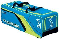 Kookaburra Pro 400 Senior Club Level Cricket Bag Holdall Wheelie Bag Blue/Yellow