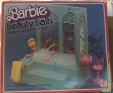 Barbie Beauty Bath 1975 ALL PARTS & INSTRUCTIONS - Complete Collectible Set