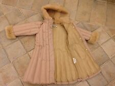 Girl I Pinco Pallino Down Jacket Coat Pink Size 4 for 3-4 Years