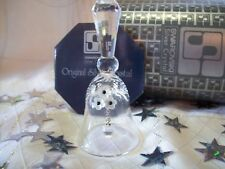 "Swarovski Silver Crystal Vintage ""Small Dinner Table Bell"" Box/Cert Mint"
