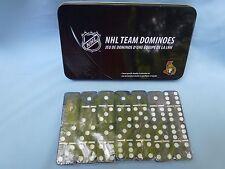 Ottawa Senators   NHL TEAM DOMINOES Double Six Domino Set  NEW in GIFT TIN BOX
