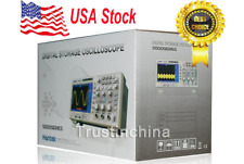 "USA STOCK. Hantek DSO5102P Digital Oscilloscope 100MHz 1Gs 2CH 7"" TFT"