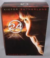 DVD 24 SEASON FOUR (4) COMPLETE 7 Disc BOX SET