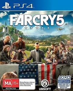 Far Cry 5 Playstation 4 PS4 Brand New Sealed