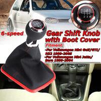 Pomello Leva Del Cambio Con Cuffia Per Volkswagen Jetta Mk4 Golf / GTI / R32