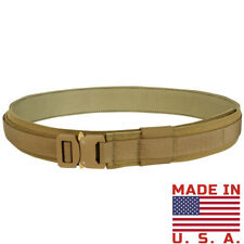 Condor Cobra Gun Belt - Coyote - Large - New - US1019-498-L