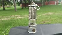 VINTAGE WOLF MINERS SAFETY LAMP CFA