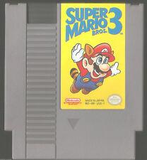 Super Mario Bros. 3 III (Nintendo) 1990 VG condition NES action game FREE SHIP