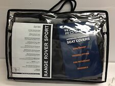 NEW! Range Rover SPORT> Black Seat covers(Pair)<VPLSS0136PVJ>Genuine Land Rover