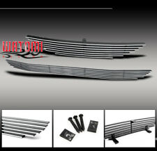 94 95 96 97 98 FORD MUSTANG FRONT UPPER + BUMPER GRILLE INSERT 2PCS COMBO GT GTS