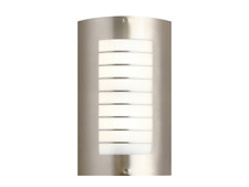 Kichler 6048NI Newport Collection Outdoor Wall 2 Light Brushed Nickel Finish