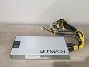 Bitmain APW3 + Power Supply PSU Miner Antminer 220-240V 1600W S9 V9 T9 S7 L3