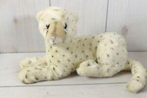 "Dakin Stuffed Animal Plush Vintage 1991 Snow Leopard Cat 13"""