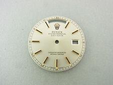 Rolex Day-Date Zifferblatt silver stick dial Ref 18038 18238 Tritium
