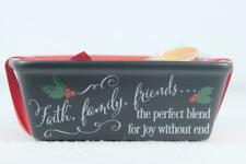 Baking Dish By Abbey Press 'Faith, Family, Friends..The Perfect... #56601T NEW