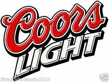 """2 Coors Light 14"""" Cornhole Vinyl Decals Stickers Baggo Toss Beer"""