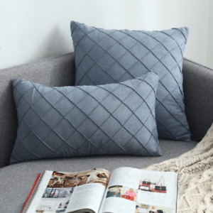 Pillow Case Blue  Pillow Case Modern Simple Cover Decorative For Chair 45cm*45cm