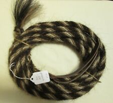 "Mane Horse Hair Mecate 22 ft long  3/8"" dia.  Pattern F10"