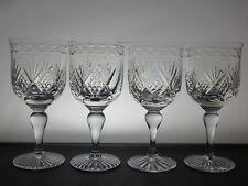 Royal Scot CRISTALLO Bicchieri da vino Set di 4 Motivo Golf