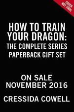 How to Train Your Dragon: the Complete Series paperback in wrap and boxed