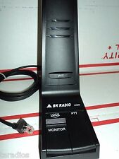 Laa0258 Bendix King Low Profile Desktop Microphone Used Gbh Dbh Ebv Grh Dmh P25
