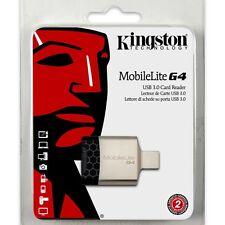 Kingston Technology Fcr-mlg4 Mobile Lite G4 USB 3.0 Multi Card Reader Black/gre