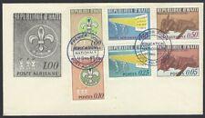 Haiti 1967 Scout FDC