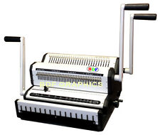 New Wire Binder Puncher Combo Punching Binding Closer Pitch 31 Amp 21 All In One