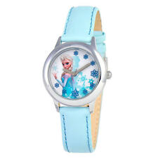 Disney Parks Exclusive Frozen Elsa Watch Blue wristwatch NIB adjustable