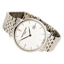 Frederique Constant Men's Watch Slimline Silver Tone Dial Bracelet 306S4S6B