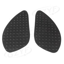 2PCS Tank Traction Pads Gas Knee Grips for HONDA CBR250R 2010 2011 2012 13 Black