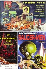27th DAY,IT CONQUORED THE WORLD, INVASION OF THE SAUCER-MEN  - DRIVE-IN SCIFI