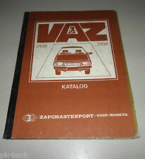 Ersatzteilkatalog Lada Samara 1100 / 1300 / 1500  VAZ 2108 / 2109 Stand 1987
