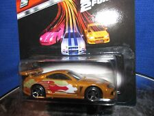 1994 '94 TOYOTA SUPRA  Brown FAST & FURIOUS OFFICIAL MOVIE CAR HOT WHEELS 2015
