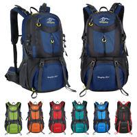 60L Waterproof Camping Hiking Backpack Travel Rucksack Climbing Shoulder Bag