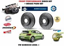 POUR VW SCIROCCO R TSI TDI 08-> AVANT PERFORMANCE KIT DISQUE FREIN+