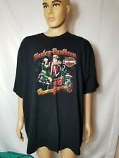 Rare Harley Davidson Motorcycles Shirt Christmas What Jingles Your Bells 3XL-4XL