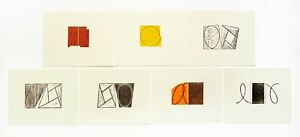 Robert Mangold: Prints 1968-98, 2000. Signed, Numbered, Woodcuts and Catalog