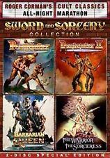 Sword & Sorcery Set 0826663126853 With David Carradine DVD Region 1