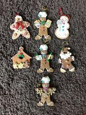 Gingerbread Ornament/hanging decor Resin