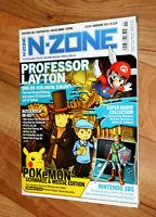Nintendo N-Zone Magazin 2010 Professor Layton Metroid Other M Sonic Colors Mario
